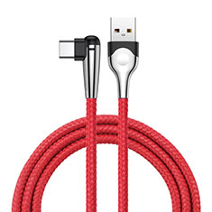 Kabel Type-C Android Universal T17 für Huawei Honor WaterPlay 10.1 HDN-W09 Rot