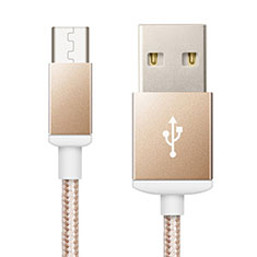 Kabel USB 2.0 Android Universal A02 für Nokia 3.1 Plus Gold