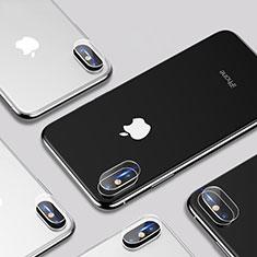 Kameraschutz Gehärtetes Glas Glasfolie P01 für Apple iPhone Xs Klar