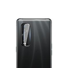 Kameraschutz Gehärtetes Glas Glasfolie Skins zum Aufkleben C01 Panzerglas für Oppo Find X2 Pro Klar