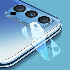 Kameraschutz Gehärtetes Glas Glasfolie Skins zum Aufkleben C01 Panzerglas für Oppo Reno4 Pro 5G Klar