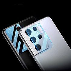 Kameraschutz Gehärtetes Glas Glasfolie Skins zum Aufkleben C01 Panzerglas für Samsung Galaxy S21 Ultra 5G Klar