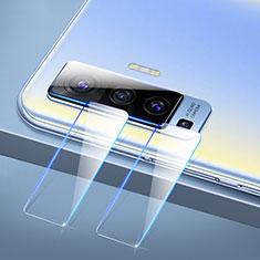 Kameraschutz Gehärtetes Glas Glasfolie Skins zum Aufkleben C01 Panzerglas für Vivo X50 5G Klar