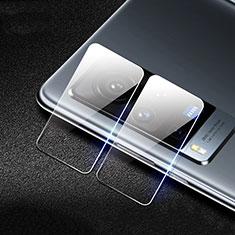 Kameraschutz Gehärtetes Glas Glasfolie Skins zum Aufkleben C01 Panzerglas für Vivo X60 Pro 5G Klar