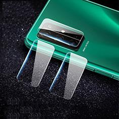 Kameraschutz Gehärtetes Glas Glasfolie Skins zum Aufkleben C02 Panzerglas für Huawei Honor 30S Klar