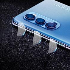 Kameraschutz Gehärtetes Glas Glasfolie Skins zum Aufkleben C02 Panzerglas für Oppo Reno4 5G Klar