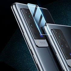 Kameraschutz Gehärtetes Glas Glasfolie Skins zum Aufkleben C02 Panzerglas für Vivo X60 Pro 5G Klar