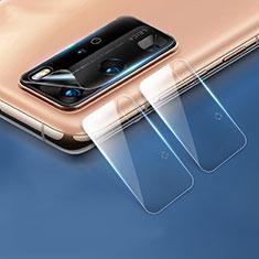 Kameraschutz Gehärtetes Glas Glasfolie Skins zum Aufkleben C04 Panzerglas für Huawei P40 Pro Klar
