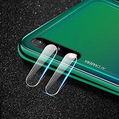 Kameraschutz Gehärtetes Glas Glasfolie Skins zum Aufkleben Panzerglas für Huawei Enjoy 10 Klar