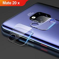 Kameraschutz Gehärtetes Glas Glasfolie Skins zum Aufkleben Panzerglas für Huawei Mate 20 X Klar