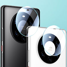 Kameraschutz Gehärtetes Glas Glasfolie Skins zum Aufkleben Panzerglas für Huawei Mate 40 Klar