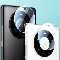 Kameraschutz Gehärtetes Glas Glasfolie Skins zum Aufkleben Panzerglas für Huawei Mate 40 Pro Klar