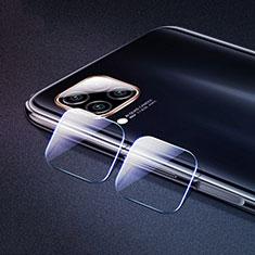 Kameraschutz Gehärtetes Glas Glasfolie Skins zum Aufkleben Panzerglas für Huawei P40 Lite Klar