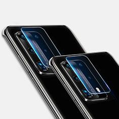 Kameraschutz Gehärtetes Glas Glasfolie Skins zum Aufkleben Panzerglas für Huawei P40 Pro+ Plus Klar