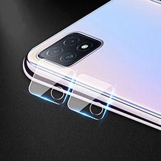 Kameraschutz Gehärtetes Glas Glasfolie Skins zum Aufkleben Panzerglas für Oppo A73 5G Klar