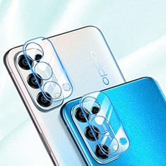 Kameraschutz Gehärtetes Glas Glasfolie Skins zum Aufkleben Panzerglas für Oppo Reno5 Pro 5G Klar