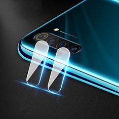 Kameraschutz Gehärtetes Glas Glasfolie Skins zum Aufkleben Panzerglas für Realme 6s Klar