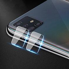 Kameraschutz Gehärtetes Glas Glasfolie Skins zum Aufkleben Panzerglas für Samsung Galaxy A51 4G Klar