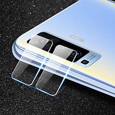 Kameraschutz Gehärtetes Glas Glasfolie Skins zum Aufkleben Panzerglas für Vivo X50 5G Klar