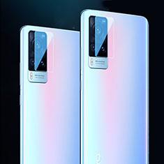 Kameraschutz Gehärtetes Glas Glasfolie Skins zum Aufkleben Panzerglas für Vivo X60 5G Klar