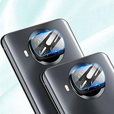 Kameraschutz Gehärtetes Glas Glasfolie Skins zum Aufkleben Panzerglas für Xiaomi Mi 10i 5G Klar