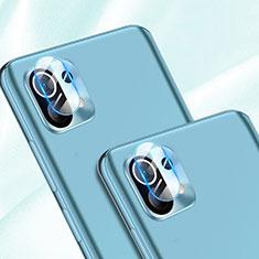 Kameraschutz Gehärtetes Glas Glasfolie Skins zum Aufkleben Panzerglas für Xiaomi Mi 11 5G Klar