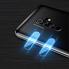 Kameraschutz Gehärtetes Glas Glasfolie Skins zum Aufkleben Panzerglas für Xiaomi Redmi 9 Prime India Klar