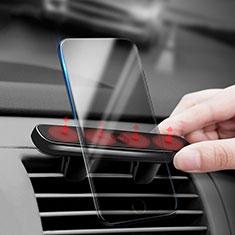 KFZ Halter Halterungung Lüftungs Auto Handy Halter Halterung Magnet Universal C03 für Sony Xperia XA3 Ultra Schwarz