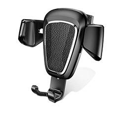 KFZ Halter Halterungung Lüftungs Auto Handy Halter Halterung Universal A02 für Sony Xperia XA2 Plus Schwarz