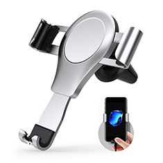 KFZ Halter Halterungung Lüftungs Auto Handy Halter Halterung Universal R01 für Sony Xperia XA3 Ultra Silber