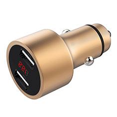 Kfz-Ladegerät Adapter 3.1A Dual USB Zweifach Stecker Fast Charge Universal für Apple iPad Mini 5 2019 Gold