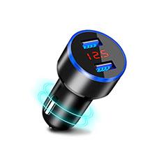 Kfz-Ladegerät Adapter 3.1A Dual USB Zweifach Stecker Fast Charge Universal K03 für Huawei Mate 30 Schwarz