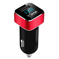 Kfz-Ladegerät Adapter 3.1A Dual USB Zweifach Stecker Fast Charge Universal für Apple iPad Mini 5 2019 Rot