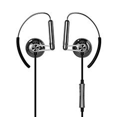 Kopfhörer Stereo Sport Ohrhörer In Ear Headset H22 für Nokia X7 Schwarz