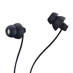 Kopfhörer Stereo Sport Ohrhörer In Ear Headset H27 für Huawei Y7a Schwarz