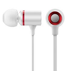Kopfhörer Stereo Sport Ohrhörer In Ear Headset H29 für Huawei Honor WaterPlay 10.1 HDN-W09 Weiß