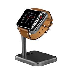 Ladegerät Dock Ladestation Ständer Halter Halterung für Apple iWatch 3 38mm Grau