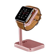 Ladegerät Dock Ladestation Ständer Halter Halterung für Apple iWatch 4 44mm Rosegold