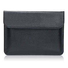 Leder Handy Tasche Sleeve Schutz Hülle für Huawei Matebook 13 (2020) Schwarz