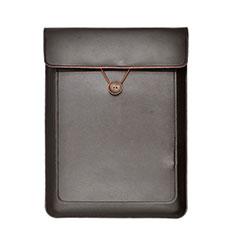 Leder Handy Tasche Sleeve Schutz Hülle L03 für Huawei Matebook 13 (2020) Braun