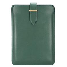 Leder Handy Tasche Sleeve Schutz Hülle L04 für Huawei Matebook 13 (2020) Grün
