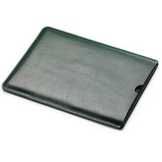 Leder Handy Tasche Sleeve Schutz Hülle L05 für Huawei Matebook X Pro (2020) 13.9 Grün