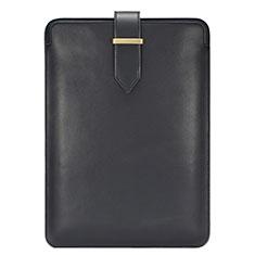 Leder Handy Tasche Sleeve Schutz Hülle L06 für Huawei Matebook X Pro (2020) 13.9 Schwarz