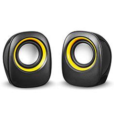 Mini Lautsprecher Stereo Speaker S01 für Xiaomi Mi 9 Pro 5G Schwarz