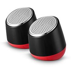 Mini Lautsprecher Stereo Speaker S02 für Xiaomi Mi 9 Pro 5G Schwarz