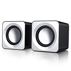 Mini Lautsprecher Stereo Speaker W04 für Xiaomi Poco M3 Weiß