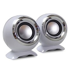 Mini Lautsprecher Stereo Speaker für Huawei Mate 30 5G Weiß