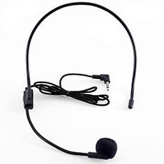 Mini-Stereo-Mikrofon Mic 3.5 mm Klinkenbuchse K03 für Sony Xperia XZ2 Premium Schwarz