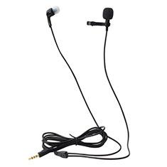 Mini-Stereo-Mikrofon Mic 3.5 mm Klinkenbuchse K05 für Sony Xperia XZ2 Premium Schwarz
