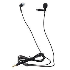 Mini-Stereo-Mikrofon Mic 3.5 mm Klinkenbuchse K05 für Oneplus 7 Schwarz
